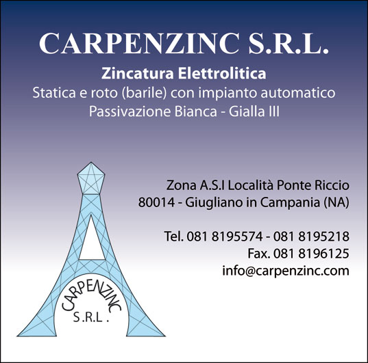 Carpenzinc Srl